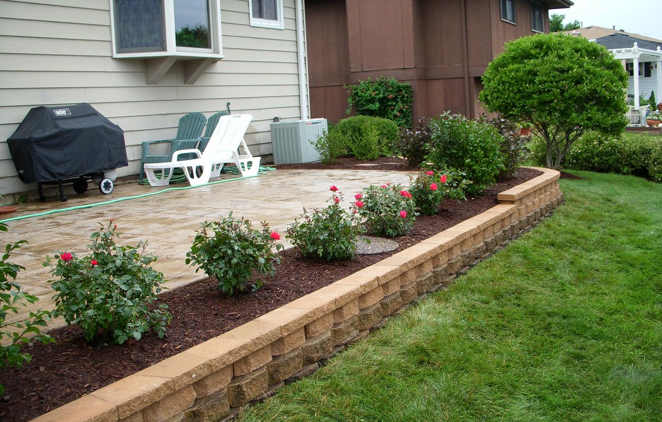 Real deal drainage solutions portfolio for Outside landscaping ideas